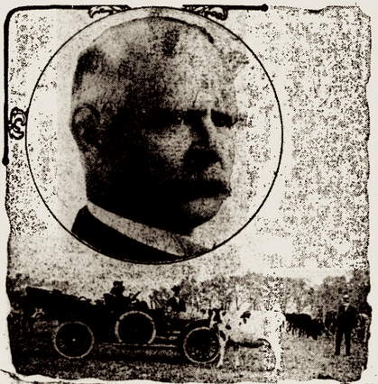 Photo collage from the Nov. 11, 1910 edition of The Evening Independent (St. Petersburg, Florida).