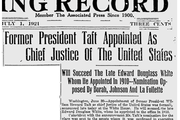 taft-chief-justice