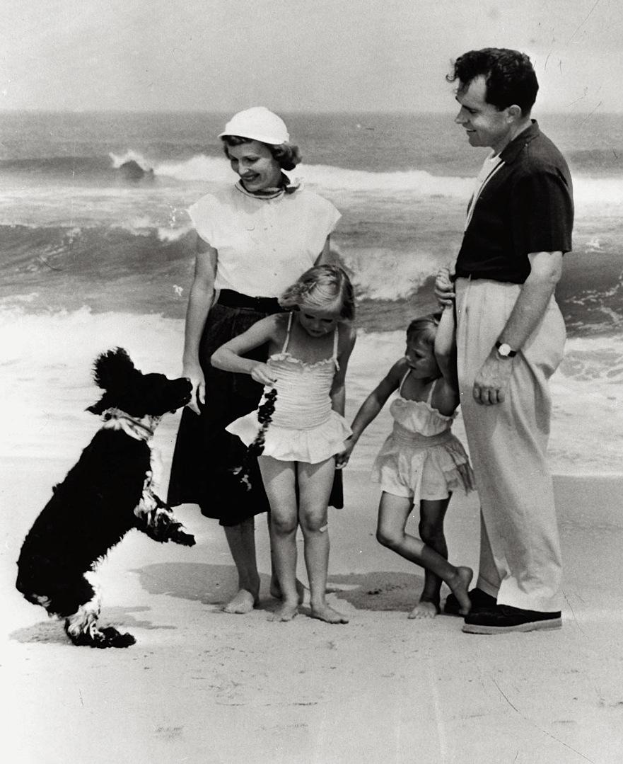 Richard Nixon's dog Checkers